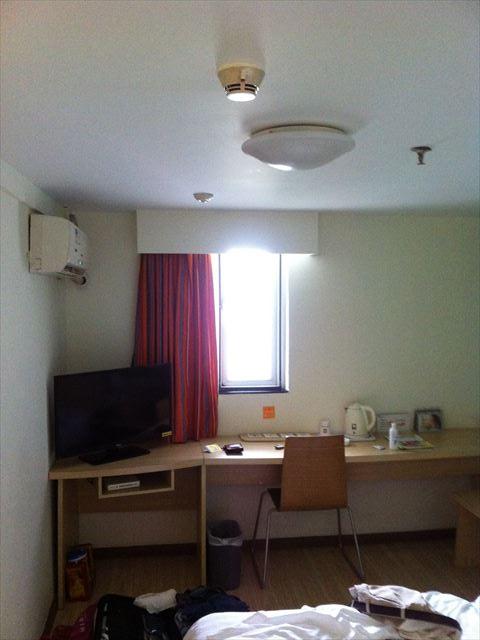 中国のビジネスホテルチェーン7days inn ホテル