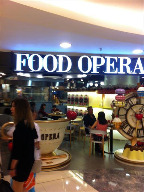 【メシ】香港のフードコート―FOOD OPERA―